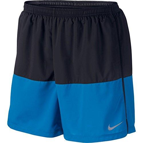 Men's Nike Flex Running Short Black/Photo Blue Size X-Large
