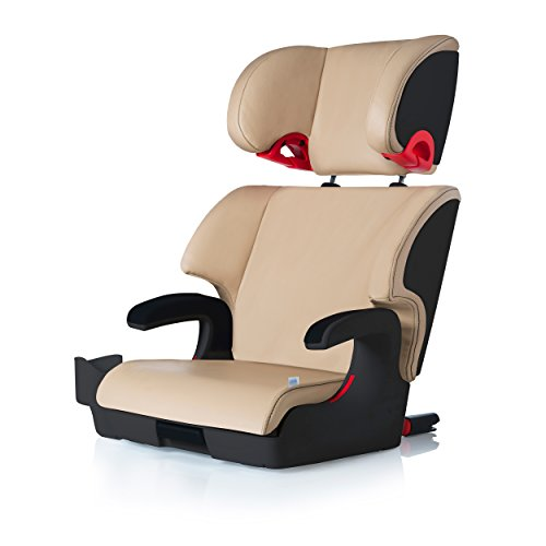 Clek OOBR Special Edition Leather Full Back Booster Seat, Paige by Clek