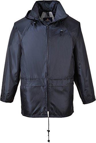 Portwest Men's Classic Rain Jacket 3XL (Chest 54 - 55in) - Navy by Portwest