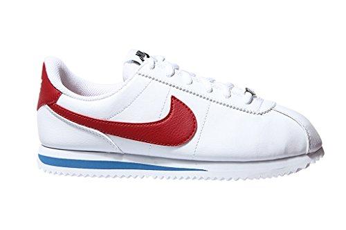 Nike Zapatillas Running Blanco SL de Basic White GS Cortez Niño rFcPw7qrI