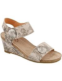Women's Carousel 2 Stone Floral Sandal 39 M EU/8-8.5 B (M) US