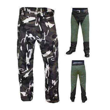 Nueva Carga Camo Kevlar Jeans Moto BG Blindados CE Grey Camo Talla:30L
