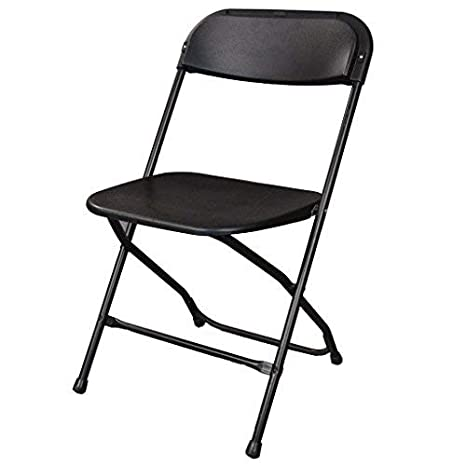 Peachy Ontario Furniture Stackable Black Metal Folding Chair 800 Pound Weight Capacity Premium Steel Frame With Plastic Seat And Back Ocoug Best Dining Table And Chair Ideas Images Ocougorg