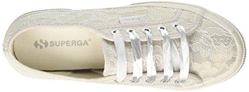 924 para Mujer synlealacew whitelace Zapatillas Multicolor Whitepearl 2750 Superga HgSOqt8w