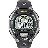 Reloj Timex T5E901 Ironman Classic 30 gris /negro con correa de resina para hombre