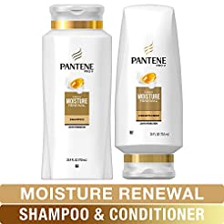 Pantene Moisturizing Shampoo and Silicon...