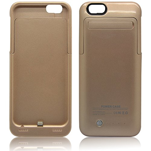 iProtect Mini 2200mAh Power Bank Batterie externe et chargeur pour Smartphones et autres appareils USB avec un câble micro USB - doré