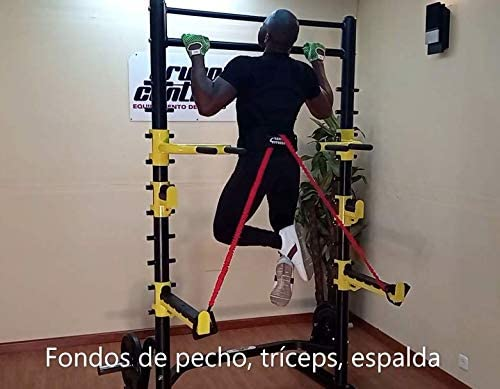 Grupo Contact Jaula Rack Sentadillas Profesional Mod. TS104 ...