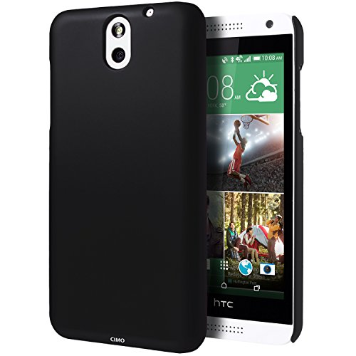 HTC Desire 610 Case, Cimo [Satin] Ultra Slim Matte Soft Touch Hard Case for HTC Desire 610 (2014) - Black