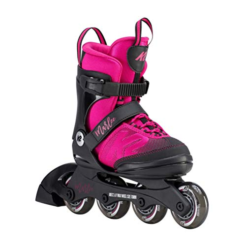 (K2 Skate Youth Marlee Inline Skates, Magenta )