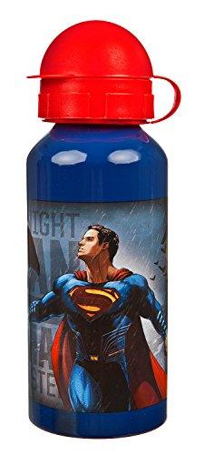 Undercover BSFH9890 - Aluflasche Batman vs Superman, 400 ml, blau
