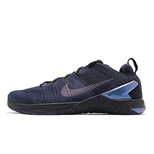 Nike Metcon DSX Flyknit 2 AMP Mens Running Trainers AV3839 Sneakers Shoes (UK 10 US 11 EU 45, College Navy Black 400)
