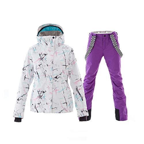XsPurple Et Zebuakuade ImperméablecolorBlackSize De Pour Ski FemmesCombinaison Veste RespiranteCoupe vent Chaude Yf7gyb6