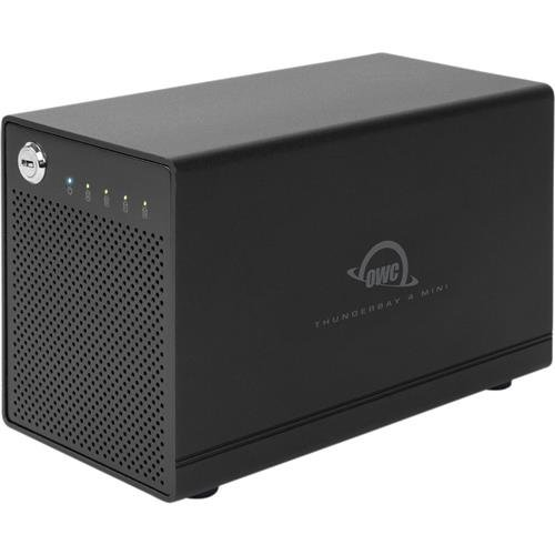 OWC / Other World Computing Thunderbay 4 Mini 4-Bay Drive Enclosure with Dual Thunderbolt 20Gb/s Ports, Raid-Ready by OWC