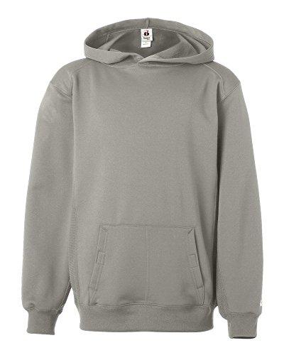 (Badger 2454 - BT5 Youth Moisture-Management Hooded Sweatshirt )