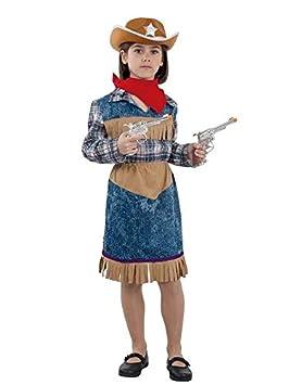 DISBACANAL Disfraz Vaquera niña - Único, 4 años: Amazon.es ...
