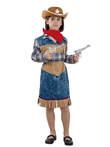 DISBACANAL Disfraz Vaquera niña - Único, 12 años: Amazon.es ...