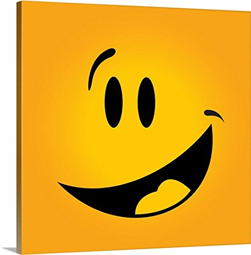 Emoji Laughing Face Kids Bedroom Decor