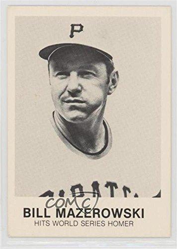 Bill Mazeroski Bill Mazeroski Baseball Card 1977 84 Tcma Renata Galasso Base 261