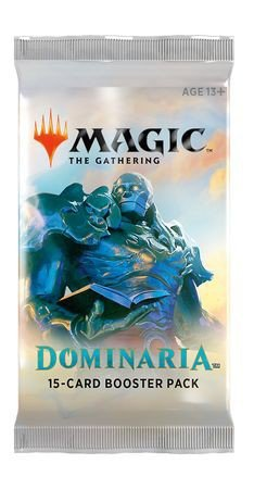 - Magic The Gathering Dominaria Single Booster Pack