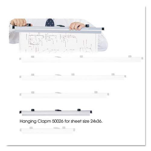 SAF50026 - Safco Sheet File Hanging Clamps
