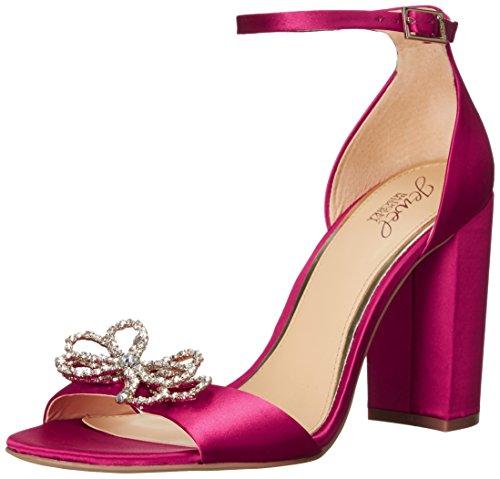 Badgley Mischka Jewel Womens Lex Heeled Sandal Pink