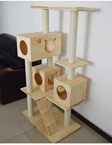 Zhicaikeji Giocattolo Gatto Gatto Gatto Gatto Gatto Arrampicata Gatto Albero Gatto Gatto Bordo Cartone Gatto graffiare Gatto massello 02288a