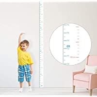 kolymax Height Chart for Kids Growth Chart Ruler Wall Decor for Measuring Kids Boys Girls, White
