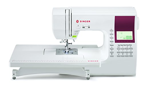 Singer Quantum Stylist Computerized Sewing Machine with Large LCD Screen and 13 Presser Feet