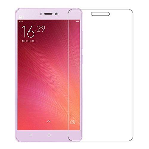 [2 Packs] Xiaomi Mi 4s Mirror Screen Protector, Xiaomi Mi 4s Tempered Glass Screen Protector, Anti-Scratch HD Clear Screen Protector Screen Guard for 5.0'' Xiaomi Mi 4s (not for Mi 4 or Mi 4i)