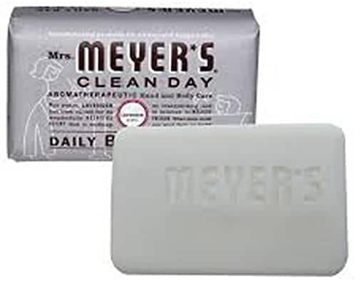 Mrs Meyers Bar Soap Lavender 5.3 Ounce (156ml)