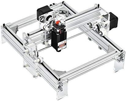 InLoveArts 17x20cm CNC Fresadoras Máquina laser engraving machine Control CNC Router Kit Madera Router Grabado 2 ejes plástico acrílico PVC Talla de madera 2500mw