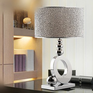 Stylish minimalist luxury crystal table lamp bedroom bedside lamp ...