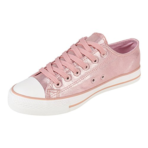 Rosa Low Flandell Sneaker Unisex Camiri Herren Damen Stiefelparadies Übergrößen aI1C0qxw