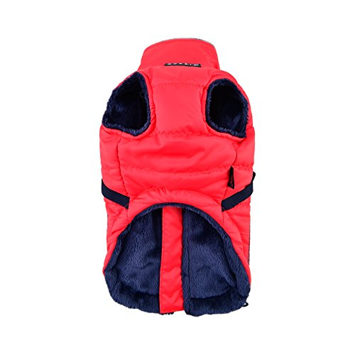 Puppia Pioneer Pet Coat, Large, Red by Puppia (Image #1)