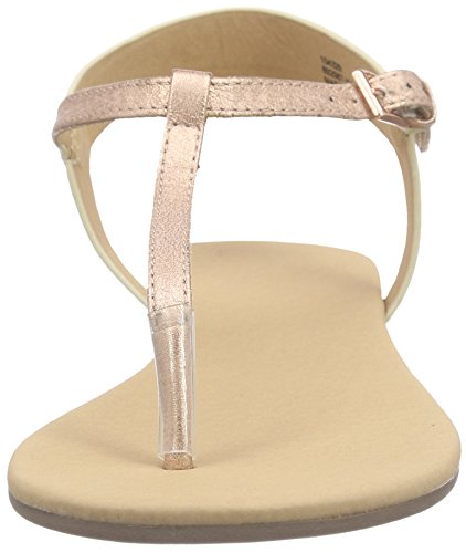 Another Pair of Shoes Sandy K2 - Sandalias para Mujer Beige (Rosegold/Black 603)
