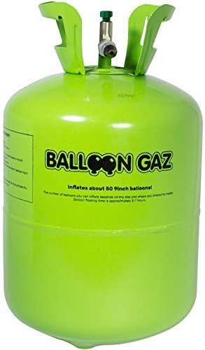 Helium Ballongas für 30 Luftballons à23 cm Heliumflasche Gas für Heliumballons