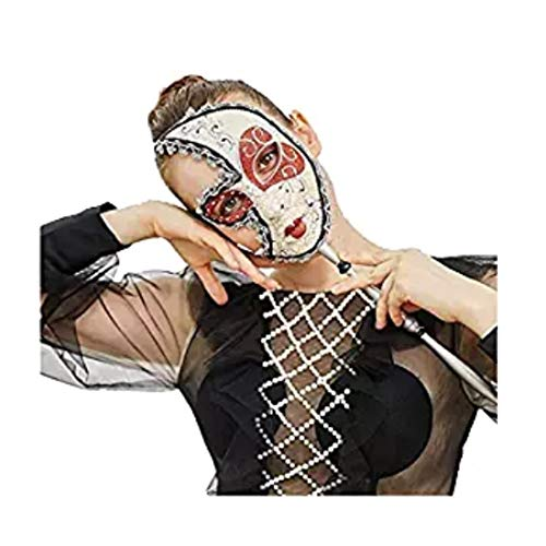 Various Venetian Women and Men Mask For Masquerade,Party ,Ball Prom, Mardi Gras,Wedding ,Wall Decoration (Gold and black)