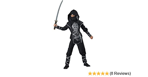 Amazon.com: InCharacter Costumes Dragon Ninja Costume, One ...
