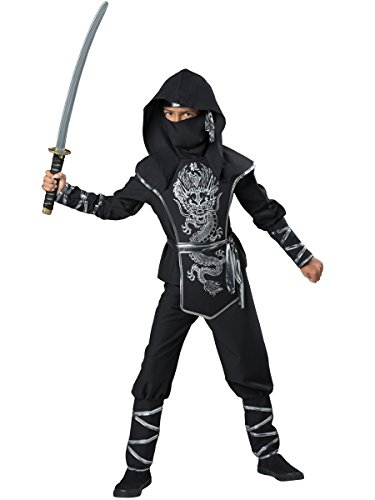 InCharacter Costumes Dragon Ninja Costume, One Color, Size 6 ()