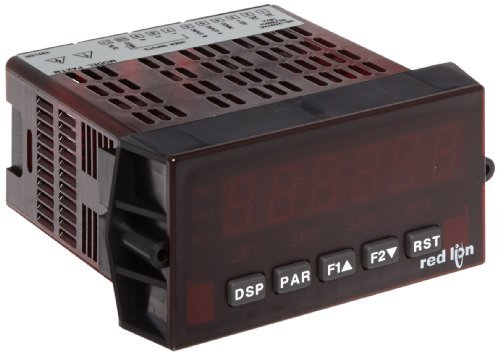 (Red Lion PAXTM Preset Timer Panel Meter, 6 Digit LED Display, 85-250 VAC, 50/60 Hz by Red Lion)