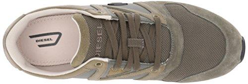 Diesel E-Boojik Hombres Moda Zapatos Olive Night/Lizard