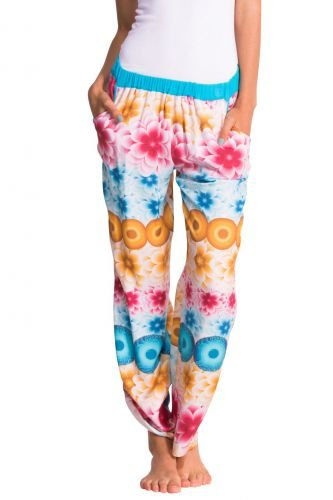 Desigual para mujer pantalones de pijama, modelo Mandala
