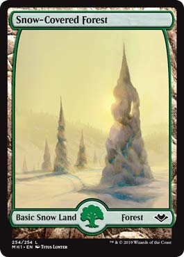 Magic: The Gathering - Snow-Covered Forest - Modern Horizons -