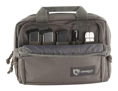 Double Pistol Case - Drago Gear Double Pistol Case (Grey)