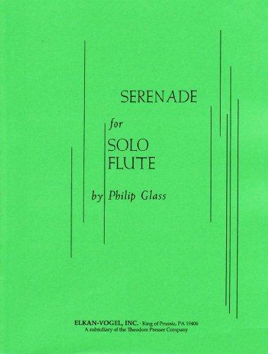 - Serenade for Flute Solo - Phillip Glass