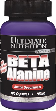 Ultimate Nutrition Beta Alanine Capsules | Increase Metabolism and Boost Energy | 750 MG, 100 Count Review
