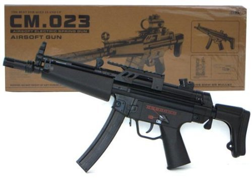 UPC 675962061064, New Generation KP5 CM023 Heavy Airsoft Gun Full Size Electric Power Fully Loaded