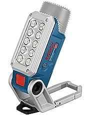 Bosch Professional 12V System batteridriven LED-lampa GLI 12V-330 (330 lumen, drifttid: 180min/Ah, utan batteri och laddare, i kartong)