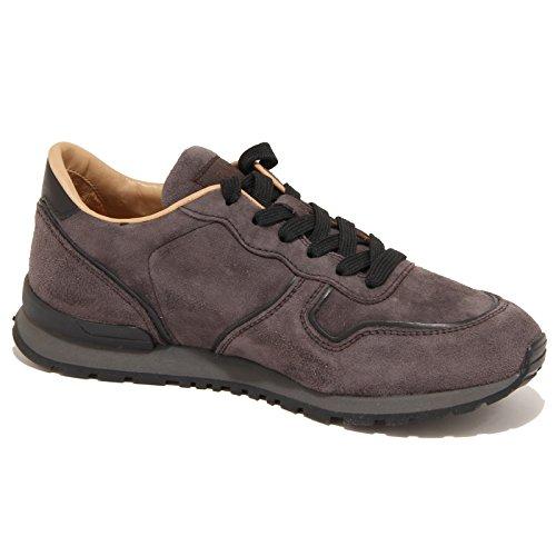 7844N sneakers uomo TODS scamosciato marrone shoes man Marrone